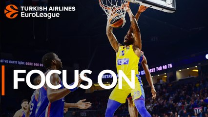 Focus on: Tarik Black, Maccabi FOX Tel Aviv