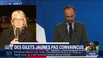 """Taxes suspendues: """"Le compte n'y est pas, je ne sais plus ce qui pourrait apaiser le mouvement"""", regrette Jacline Mouraud"""