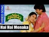 Hai Hai Menaka Song || Aahwanam Telugu Video Songs || Srikanth , Ramya Krishna || Vega Music
