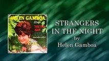 Helen Gamboa - Strangers In The Night (Lyrics Video)