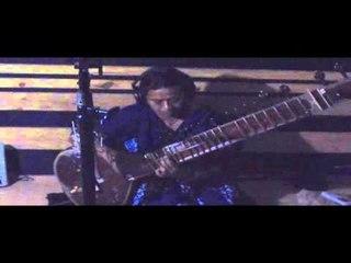 Famous Musician SUMA RANI Playing Sitar for ANUBANDHA Serial of ASHOK KASHYAP & REKHA RANI CLIP 2
