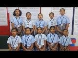 ALPINE PUBLIC SCHOOL STUDENTS SINGING KANNADA FOLK SONG FOR KANNADA DAY 2017-18