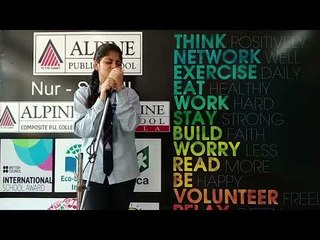 Alpine Public School Student Suhaani Singing a Japanese Song