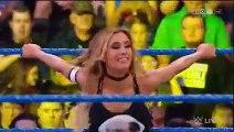 WWE SMACKDOWN - Carmella w James Ellsworth vs Aliyah