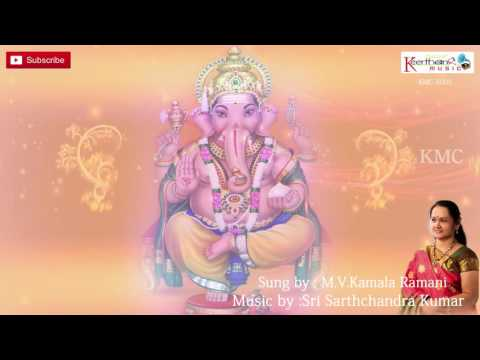 Sriganapathinisevimpa Rare || Lord Ganesh Sanskrit Devotional