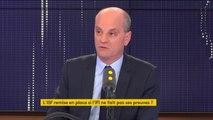 """""""Tout est sur la table en matière fiscale"""", assure Jean-Michel Blanquer, """"pourquoi pas des contributions sur une période donnée"""""""