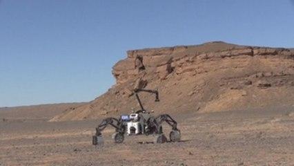 El astromóvil afina su autonomía en el Sáhara para futuras misiones en Marte