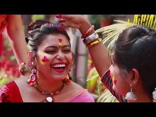 Holi song   Colours on Canvas   SATRANGEE    Rageshri,Manali    Bihaan Music