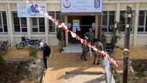 Sağlık Bakanlığı Afrin'in Racu beldesinde sağlık merkezi açtı (1) - AFRİN