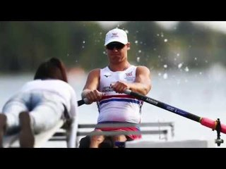 Laurence Whiteley is relieved to be able to race the PR2 single sculls at the World Championships