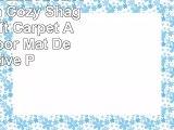 BowEaey Round Area Rugs Morden Cozy Shaggy Rug Soft Carpet AntiSkid Floor Mat Decorative