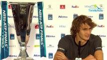 """ATP - Alexander Zverev : """"Si je peux surpasser Djokovic ? On va se détendre un peu, Novak a gagné 148 tournois de plus que moi !"""""""
