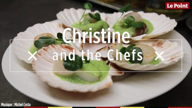 Christine and the Chefs #1 - Coquilles Saint-Jacques, topinambours et émulsion de cresson