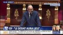 """Edouard Philippe s'adresse aux casseurs: """"nous serons intraitables"""""""