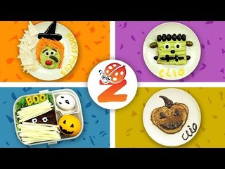 4 HALLOWEEN Baby Food Art SNACKS your Kids will Love | Healthy-n-Yummy | DIY Art & Crafts for Kids