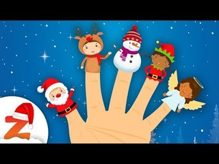The Finger Family Song  Christmas Edition | Nursery Rhymes & Christmas Songs