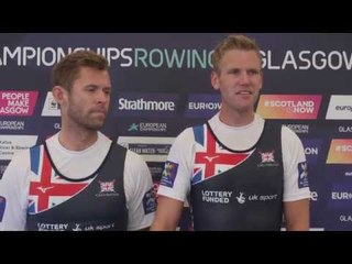 Jack Beaumont and Harry Leask pleased with European bronze medal