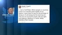 Tarifs douaniers : Trump menaçant avec la Chine