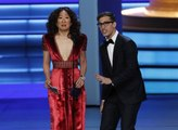 Sandra Oh and Andy Samberg to Host Golden Globes