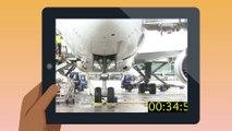 Sécurité des vols, agir ensemble au sol - Vérification de la hauteur de l'avion pendant le chargement et le déchargement