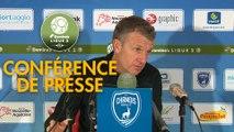 Conférence de presse Chamois Niortais - Valenciennes FC (1-0) : Patrice LAIR (CNFC) - Réginald RAY (VAFC) - 2018/2019