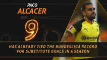 Hot or Not... Paco Alcacer setting Bundesliga records from the bench