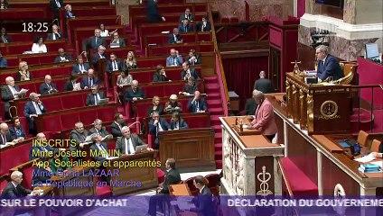 Josette Manin - Débat à l'Assemblée nationale - 5 décembre 2018