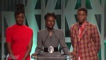 Lupita Nyong'o, Chadwick Boseman, Danai Gurira Announce 'Black Panther' Scholarship | Women in Entertainment 2018