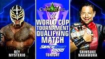 WWE SmackDown 1000: Rey Mysterio vs. Shinsuke Nakamura - Lucha Clasificatoria a la Copa del Mundo de WWE | Español Latino HD