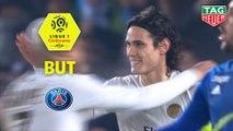 But Edinson CAVANI (71ème pen) / RC Strasbourg Alsace - Paris Saint-Germain - (1-1) - (RCSA-PARIS) / 2018-19