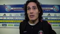 Strasbourg-Paris Saint-Germain: post game interviews