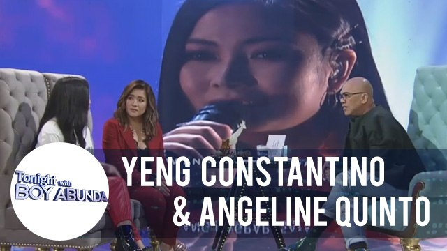 TWBA: Yeng Constantino and Angeline Quinto are happy about ASAP Natin 'To