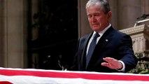 Emotivo adiós al patriarca de los Bush