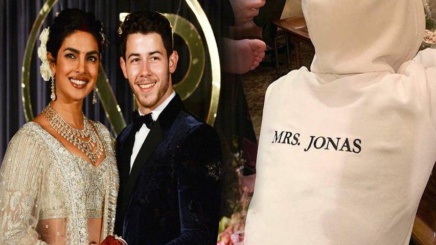 Priyanka Chopra Nick Jonas Wedding: PeeCee sports a Mrs Jonas jacket and we are loving it! | Boldsky