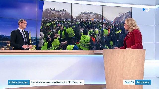 Gilets jaunes : le silence assourdissant d'Emmanuel Macron