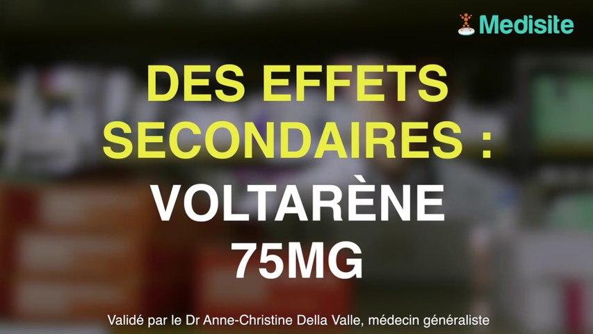 Voltarène 75 mg, des effets indésirables à connaître