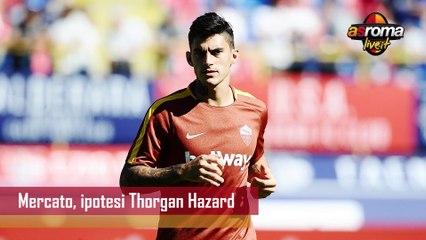 Calciomercato Roma, se parte Perotti c'è Thorgan Hazard