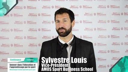Colloque : Innover dans l'éducation et l'apprentissage par le sport - Sylvestre Louis