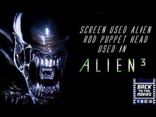 Alien Puppet Head Prop used in Alien 3