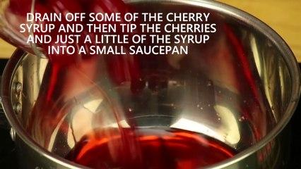 Short - Cherry and cinnamon zabaglione