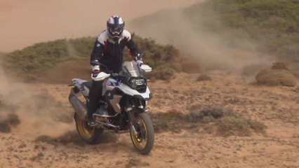 BMW R 1250 GS Offroad Riding Video