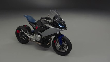 BMW Motorrad Concept 9cento - A smart all-rounder for the road