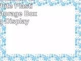 Rotating Cosmetic Organizer White Plastic Makeup Storage Box Spinning Display