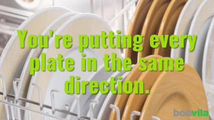 9 Ways You're Loading the Dishwasher Wrong