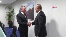 Dışişleri Bakanı Mevlüt Çavuşoğlu Belarus Dışişleri Bakanı Vladimir Makei ile Görüştü