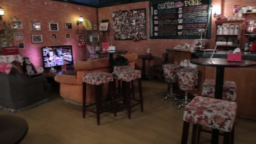 Friends meet at Beijing's answer to Central Perk