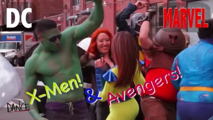 MarvelvDCcomicsDANCEoff