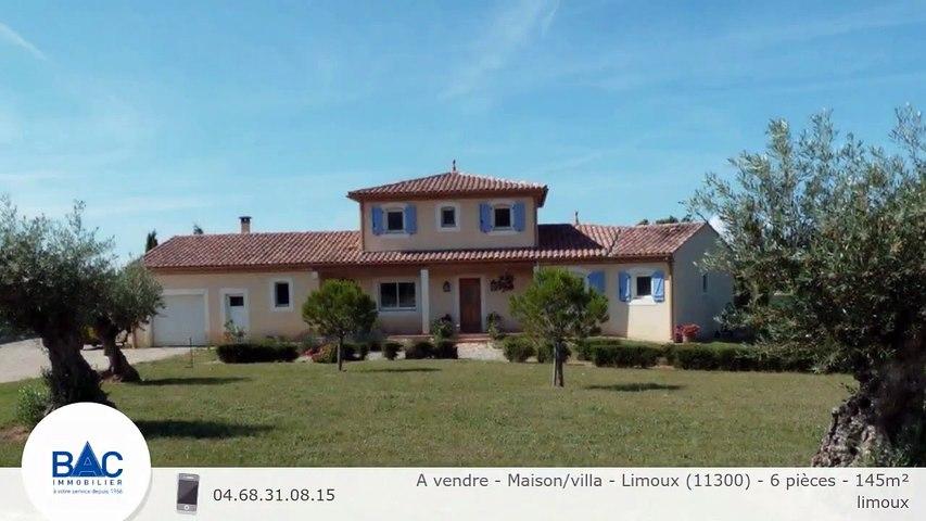 A vendre - Maison/villa - Limoux (11300) - 6 pièces - 145m²