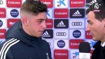 """Fede Valverde: """"Siempre tratamos de estar al máximo y aportar nuestro granito de arena"""""""