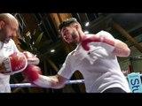SPECIAL PBK Josh Kelly trains for BIGGEST TEST | Public Workout Brook vs Zerafa